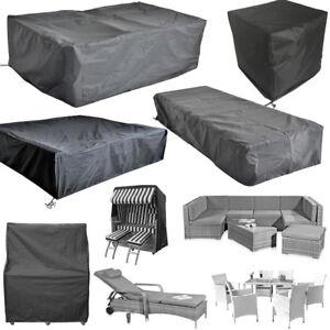Schutzhülle Gartenmöbel Schutzplane Abdeckplane Garnitur Couch Sofa Plane Hülle
