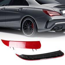 Mercedes Benz W117 C117 CLA Class 250 AMG Rear Vent Insert Spoiler Bar - Red