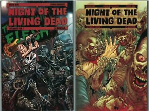 NIGHT OF THE LIVING DEAD AFTERMATH Vol 1 & 2 set TP TPB $39.98srp Avatar NEW