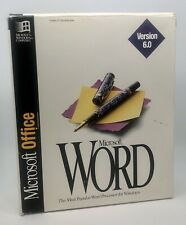 Vintage Microsoft Office Word version 6.0 Collector