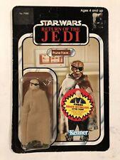 Star Wars Vintage Kenner Prune Face ROTJ 77 Back Anakin Offer New Sealed