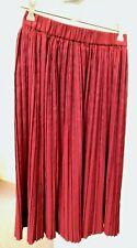 Gorman pleated burgundy skirt size 6