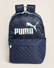 NWT PUMA AUTHENTIC SCHOOL SPORT WOMEN'S NAVY BLUE DASH LAPTOP BACKPACK