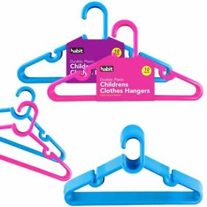 BABY KIDS CHILDREN PLASTIC HANGERS COAT CLOTHES KIDS PLASTIC HANGERS
