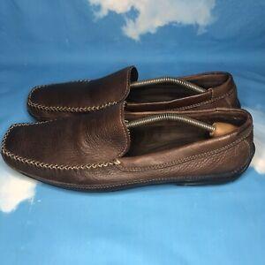 Dr. Scholls Studio Series Men Shoes US 12 Driving Slip On Loafer Leather Comfor