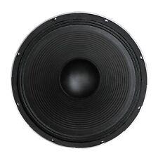 """Nouveau Soundlab 15 """" 400 w watt haut-parleur basse de remplacement de cône de pilote noir L041F"""