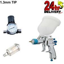 Devilbiss Slg 620 13mm Spray Gun Gravity Feed With Gauge Amp Filter