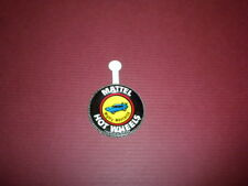 MIGHTY MAVERICK - Mattel Hot Wheels metal badge/pin/button/pinback 1969