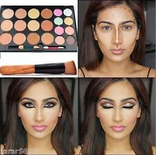 20 Color Concealer and Contour Palette Makeup up Palette + Wooden Brush