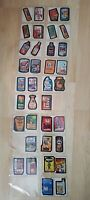 Vtg 35pc Topps Wacky Packages Lot Non Sports Trading Cards All Tan Backs H