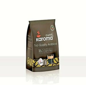 Caffe Karoma Dolce Gusto compatible Capsules Arabica Blend x 96