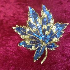 Vintage Maple Leaf Applique Motif