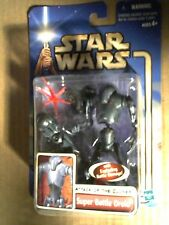 Hasbro Star Wars Attack of the Clones Super Battle Droid Action Figure MOC