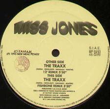 MISS JONES - The Traxx (Paolo Martini Rmx) - 1993 New Meal Power Italy - MP59/93