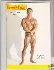 IronMan Bodybuilding Weightlifting MuscleMag Doug Brignole/ Mike Antorino 11-82