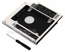 SATA 2nd HDD SSD HD Hard Drive caddy Adapter for Sager np8130 NP9370 TS-L633F