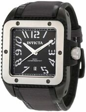 Stainless Steel Strap Adult Square Wristwatches