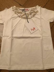 Il Gufo Mädchen Bluse/T-Shirt Gr. 4 Jahre NEU