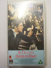 MR DEEDS GOES TO TOWN [1936] VHS – Frank Capra, Gary Cooper, Jean Arthur - RARE!