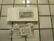 Jordan Products Highway Miniatures 1934 Ford 21 Passenger Bus Kit H O Scale /