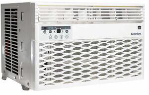 Danby 8000 BTU 3-Speed Window Air Conditioner w/ Remote