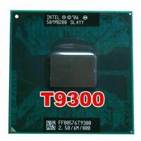Intel Core 2 Duo T9300-CPU 2.5GHz 478-polige Dual-Core-Sockel-P-Prozessor-CPU