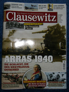 Clausewitz Militärgeschichte Heft 3 / 2021 Westfeldzug Arras PzKpfWg 38 Hetzer
