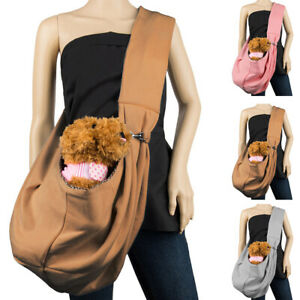Small Dog Cat Puppy Pet Carrier Single Shoulder Bag Pouch Outdoor Travel Tote US