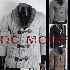 Grobe Herren-Pullover & -Strickware aus Acryl mit Regular und Knöpfe