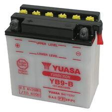 Batteria Yuasa YB9-B 12V 9AH dimensioni 135 x 75 x 139 Ricambi Scooter Moto