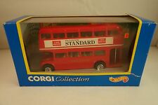 VINTAGE 1994 - NOS MATTEL - CORGI COLLECTION - LONDON BUS ROUTE MASTER - MIB