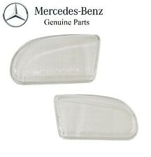 Mercedes W210 99-02 Fog Light Lens Left + Right Front Genuine OES