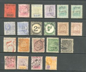 BRITISH GUIANA , 21 x stamps mounted mint or fine used , unsorted