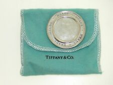 RARE TIFFANY & COMPANY STERLING SILVER HEADS AND TAILS FLIP CHARM PENDANT