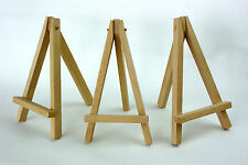 MINI WOODEN ARTIST EASEL FOR WEDDING, ARTWORK DISPLAY, TABLE SETTINGS, CRAFT
