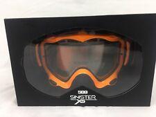 509 Sinister X5 Goggle - Neon Orange Snocross Anti-fog Optics