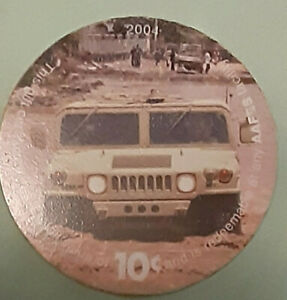 5E10  AAFES Pog  2004 U.S. ARMY Money  About  Uncirculation Condition