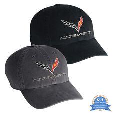 Corvette C7 Basecap Kappe Cap NEU US-Import 2020 orginal und GM lizenziert