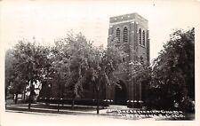 D31/ Las Animas Colorado Co Real Photo RPPC 1945 Presbyterian Church