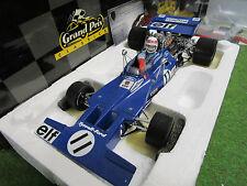 F1 TYRRELL FORD 003 + PILOTO STEWART # 11 Winner Monaco 1971 1/18 EXOTO 97029 OC