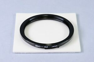 [ Made in Japan ] B60 to 62mm Filter Adapter Ring for Hasselblad