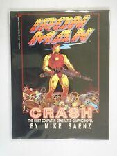Iron Man Crash GN 8.0 VF (1988 1st Printing)