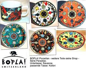 Savanna BOPLA Porzellan Unterteller Tasse Mug Haferl