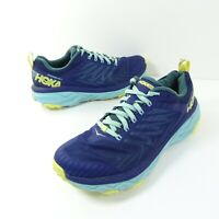 Hoka One One Womens Challenger ATR 5 1104094 MBMGR Blue Running Shoes Size 8.5
