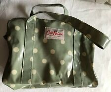 Cath Kidston Sage Green Spot Small Tote Bag Makeup Wash Travel