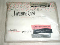 Vintage MONTGOMERY WARD Sheet Percale 81 x 108 Flat Unopened