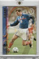 2002 Panini FIFA World Cup Korea Japan Zinedine Zidane #61 France Legend READ!