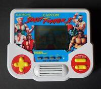 Vintage 1988 Tiger Electronics Street Fighter II Handheld Game - Tested & Works