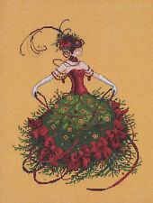 Cross Stitch Chart / Pattern ~ Mirabilia - Miss Christmas Eve #MD148