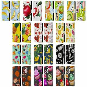 OFFICIAL HAROULITA FOOD - FRUITS LEATHER BOOK WALLET CASE COVER FOR LG PHONES 2